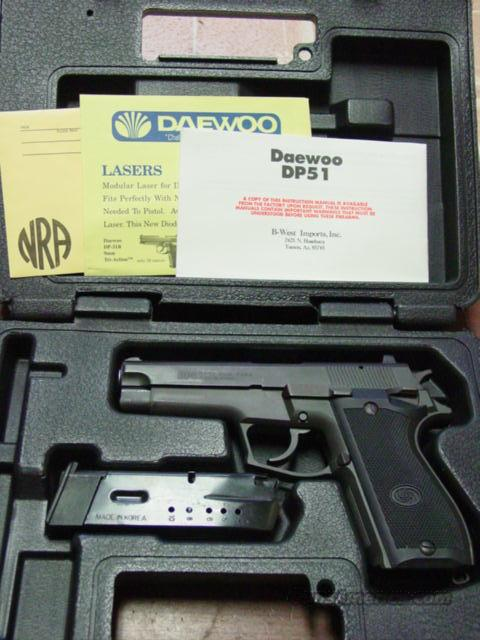 DAEWOO DP 51 9MM for sale