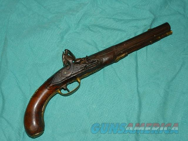 ORNATE GENTLEMANS FLINT BELT PISTOL  Guns > Pistols > Muzzleloading Pre-1899 Pistols (flint)