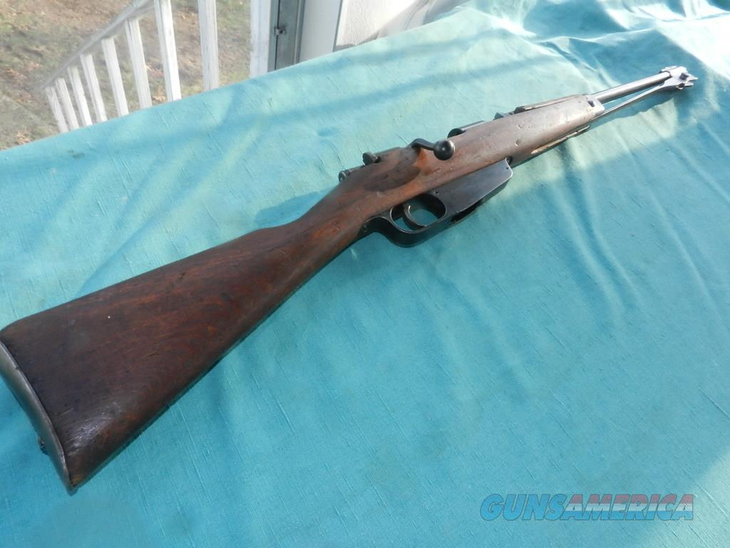 CARCANO CALVARY CARBINE 6.5MM   Guns > Rifles > Military Misc. Rifles Non-US > Other