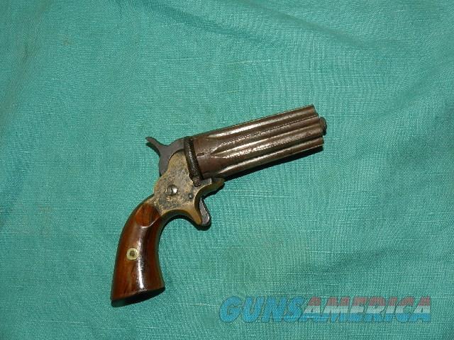Jacob Rupertus .22 cal. PEPPERBOX  Guns > Pistols > Antique (Pre-1899) Pistols - Ctg. Misc.