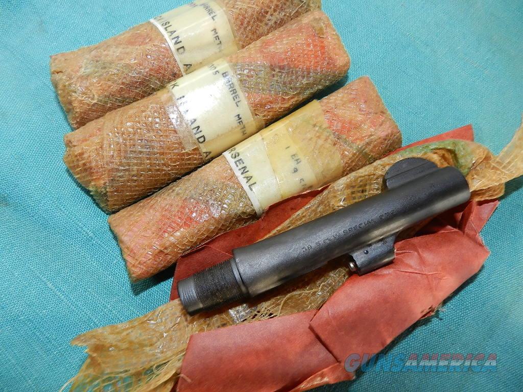 S&W VICTORY MODEL WWII NOS BARREL  Non-Guns > Barrels