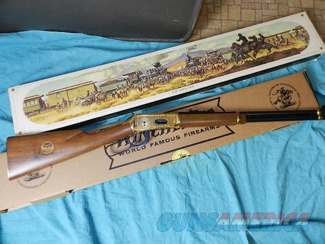 WINCHESTER GOLDEN SPIKE CARBINE .30-30 NIB  Guns > Rifles > Winchester Rifle Commemoratives