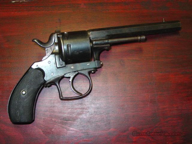 BELGIUM 9MM CTRFIRE REVOLVER  Guns > Pistols > Antique (Pre-1899) Pistols - Ctg. Misc.
