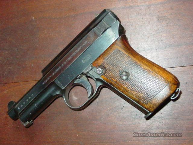 MAUSER 1914 PISTOL 32ACP  Guns > Pistols > Mauser Pistols
