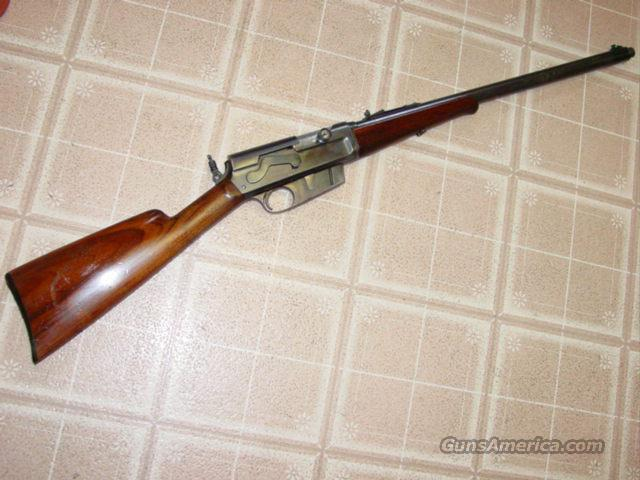 REMINGTON 8 PEEP SIGHT RIFLE  Guns > Rifles > Remington Rifles - Modern > Non-Model 700