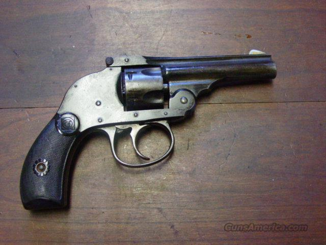 H&R .32 HAMMERLESS BLUE  Guns > Pistols > Harrington & Richardson Pistols