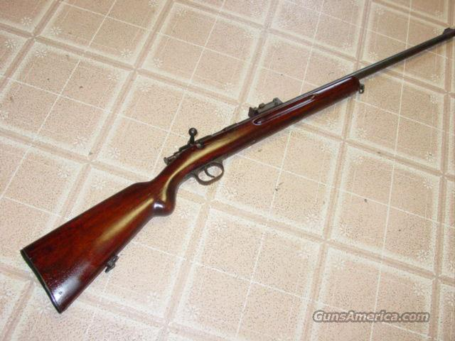 GERMAN TRAINING RIFLE .22 CAL GECO BOLT  Guns > Rifles > Mauser Rifles > German