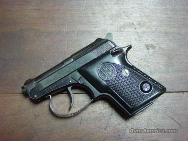 BERETTA M 20 .25 ACP  Guns > Pistols > Beretta Pistols > Small Caliber Tip Out