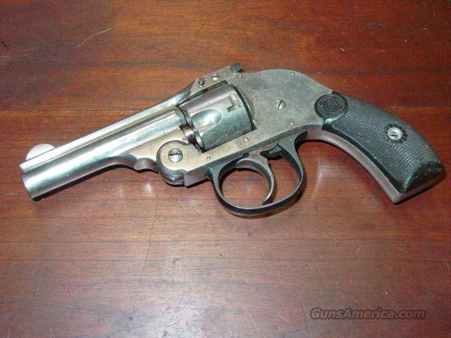 H&R HAMMERLESS .32  Guns > Pistols > Harrington & Richardson Pistols