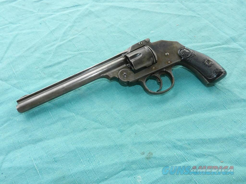 IVER JOHNSON LONG BARREL .38  Guns > Pistols > Iver Johnson Pistols