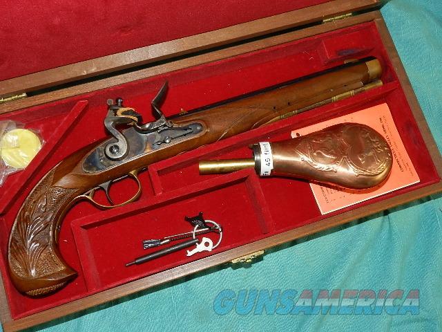 BOXED PRESENTATION PERCUSSION PISTOL  Guns > Pistols > Muzzleloading Modern & Replica Pistols (perc)