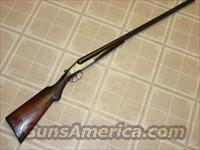 TOBIN ARMS CO NORWICH DBLE 12GA  Guns > Shotguns > Antique (Pre-1899) Shotguns - Misc.