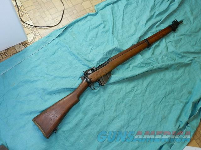 ENFIELD NO4 MKII WWII  RIFLE  Guns > Rifles > Military Misc. Rifles Non-US > Other