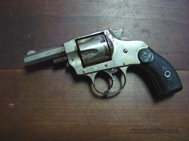 H&A 32 CAL. DOUBLE ACTION REVOLVER  Guns > Pistols > Hopkins & Allen Pistols