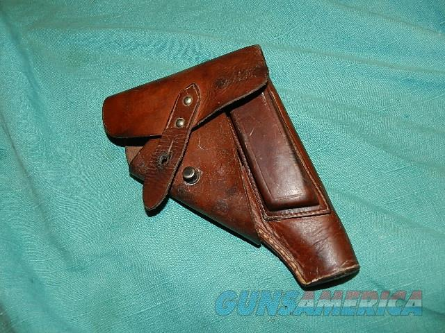 GERMAN WWII HOLSTER SAUER 38, FN 1910,MAUSER HSC, WALTHER PP  Non-Guns > Holsters and Gunleather > Military