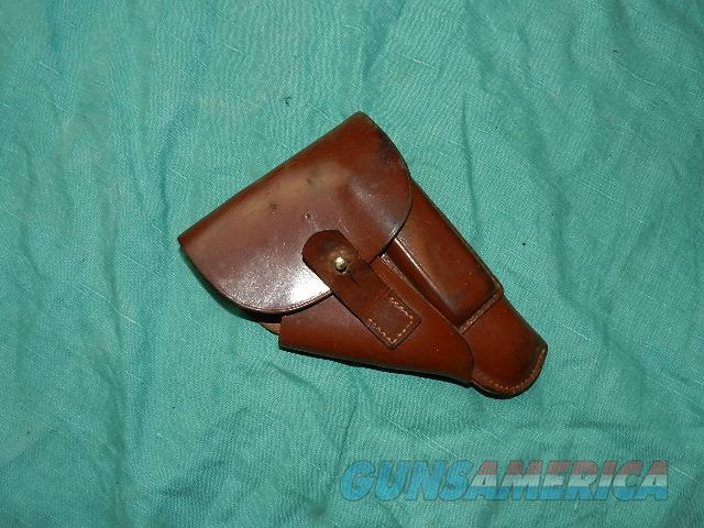 WWII WALTHER PPK HOLSTER  Non-Guns > Holsters and Gunleather > Military
