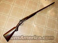 T. BARKER 12GA HAMMER DOUBLE  Guns > Shotguns > Antique (Pre-1899) Shotguns - Misc.