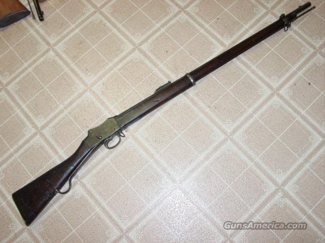 MARTINI HENRY M1887 MK4 LONG LEVER  Guns > Rifles > Martini Rifles