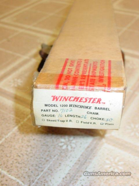 "WINCHESTER M 1200 BARREL 16GA 26""  Non-Guns > Barrels"