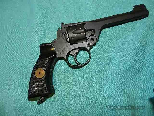WEBLEY/ALBION WWII REVOLVER 38 cal.  Guns > Pistols > Military Misc. Pistols Non-US