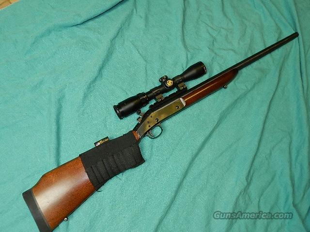 H&R DEERSLAYER SCOPED .308  Guns > Rifles > Harrington & Richardson Rifles