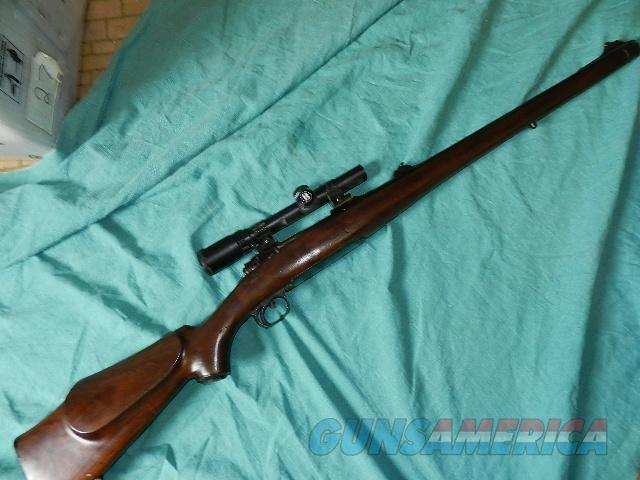 SAVAGE SPORTER CUSTOM CARBINE LEFT HAND 358  Guns > Rifles > Savage Rifles > Standard Bolt Action > Sporting