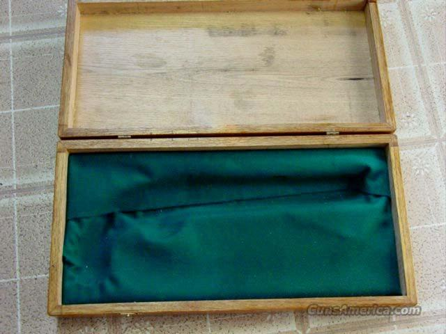 OAK FLINT/PERCUSSION PISTOL DISPLAY BOX  Non-Guns > Gun Parts > Antique & Collector Parts > Civil War