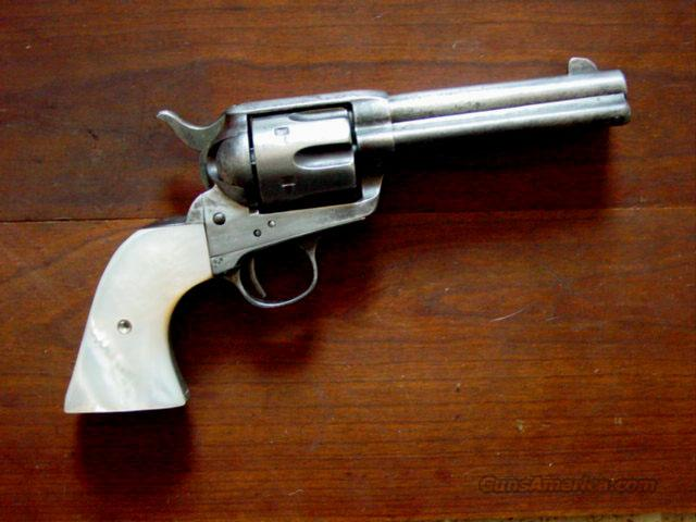 "COLT SAA .45 CAL. 4 3/4""  Guns > Pistols > Colt Single Action Revolvers - 1st Gen."