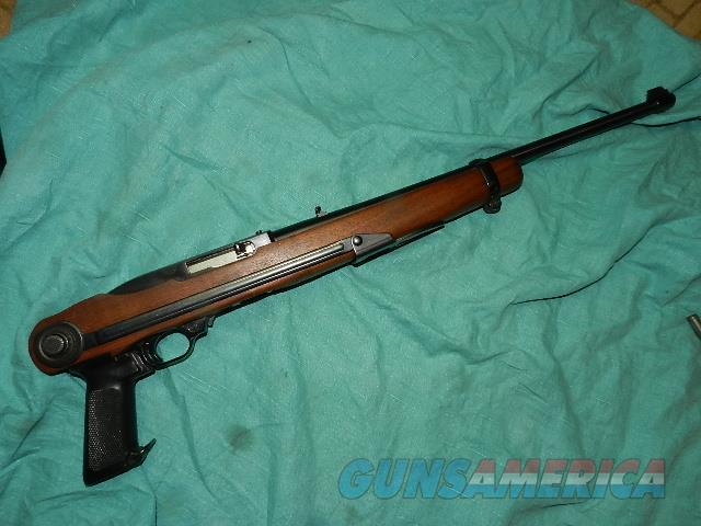 RUGER 10/22 WITH A FACTORY INSTALLED FOLDING STOCK  Guns > Rifles > Ruger Rifles > 10-22