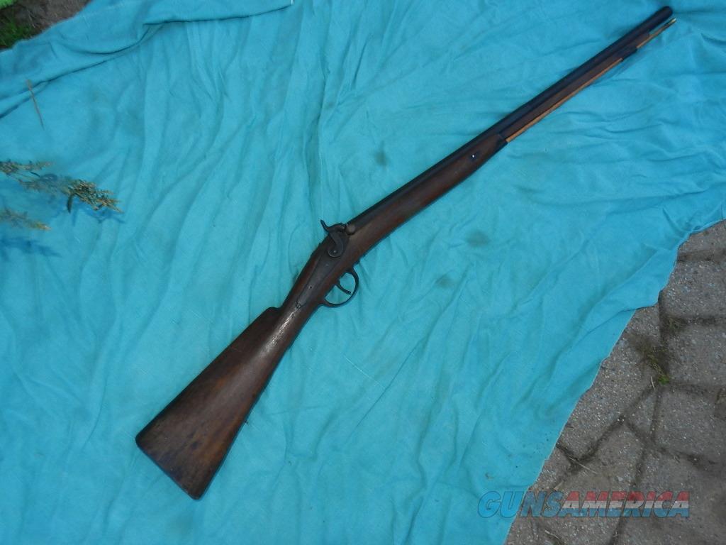 19TH CENTURY 12GA. AMERICAN FOWLER   Guns > Shotguns > Muzzleloading Pre-1899 Shotguns