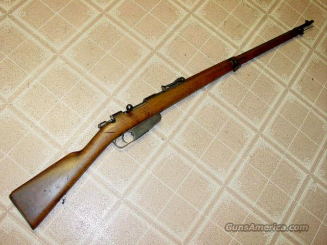 CARCANO MODEL 1891 6.5MM  Guns > Rifles > Military Misc. Rifles Non-US > Other