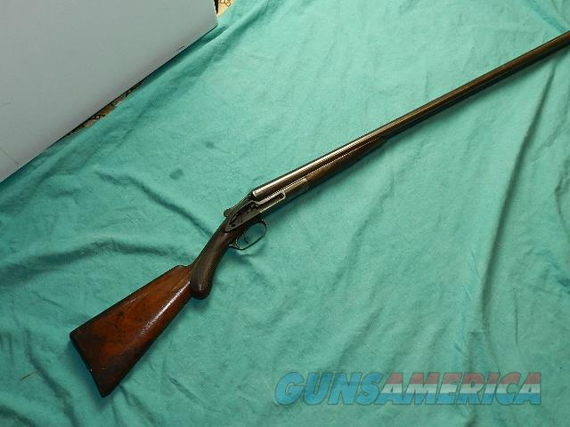 REMINGTON DOUBLE HAMMER12GA. PARTS GUN  Guns > Shotguns > Remington Shotguns  > Side x Side Pre-1899