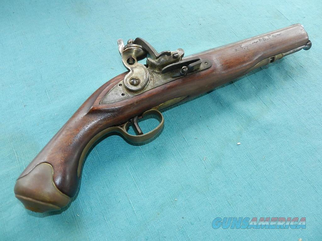 SEA SERVICE ENGLISH FLINT PISTOL  Guns > Pistols > Muzzleloading Modern & Replica Pistols (flint)
