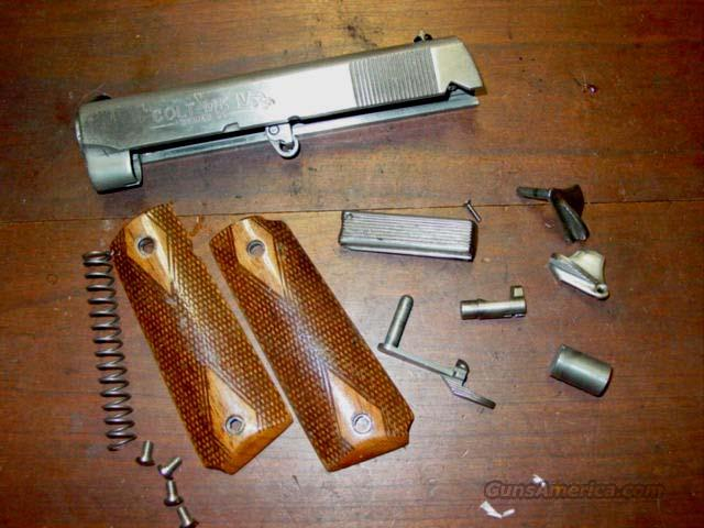 COLT 1911 OFFICERS SERIES 80 STAINLESS PARTS  Non-Guns > Gun Parts > 1911