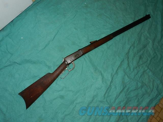 WINCHESTER 1894 MADE 1910 WITH .32W.S.  Guns > Rifles > Winchester Rifles - Modern Lever > Model 94 > Pre-64
