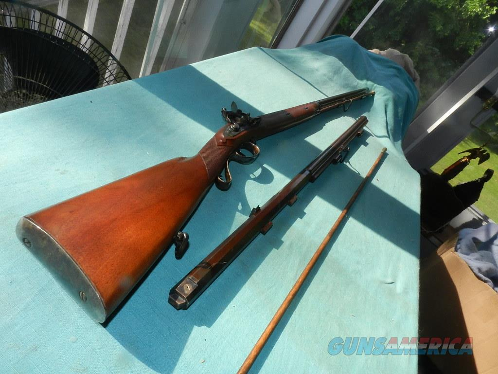 PEDERSOLI MORTIMER RIFLE/SHOTGUN COMBO .54CAL/20GA.  Guns > Rifles > Pedersoli Rifles > Flintlock