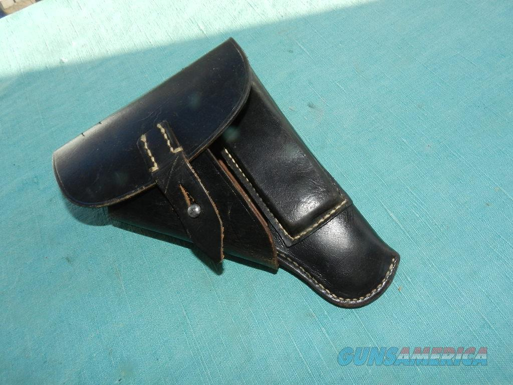 GERMAN WWII MILITARY HOLSTER WALTHER PP  Non-Guns > Holsters and Gunleather > Military