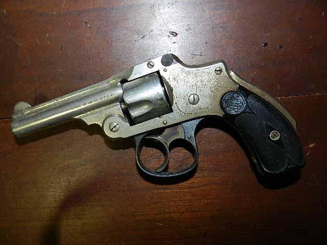 S&W 32 SAFETY 2ND MODEL 32   Guns > Pistols > Smith & Wesson Revolvers > Pre-1945