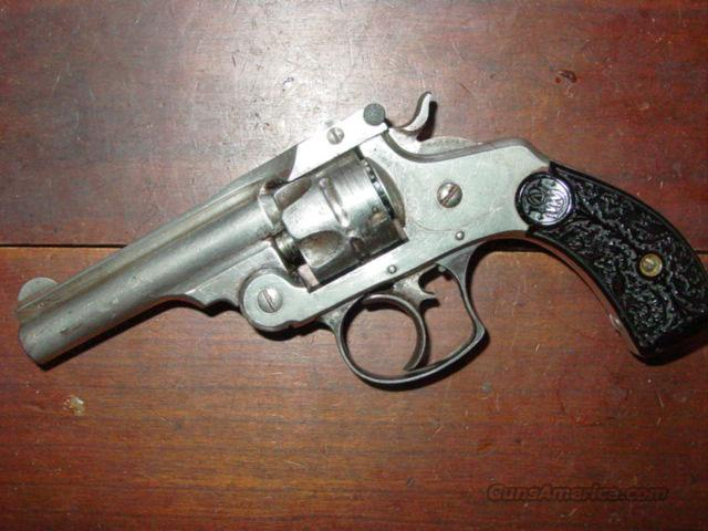 S&W 2nd MODEL D.A. .32  Guns > Pistols > Smith & Wesson Revolvers > Pocket Pistols