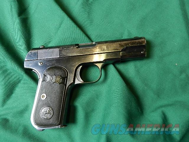 COLT 1903 HAMMERLESS .32 MADE IN 1908  Guns > Pistols > Colt Automatic Pistols (.25, .32, & .380 cal)