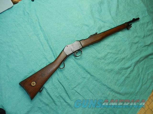MARTINI A.C. ARTILLERY CARBINE 1890 .303CAL.  Guns > Rifles > Martini Rifles