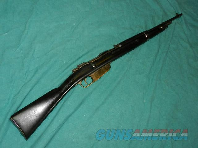 CARCANO MUSSOLINI BODYGUARD CARBINE  Guns > Rifles > Military Misc. Rifles Non-US > Other