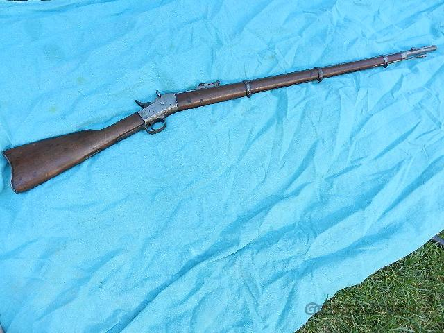 REMINGTON ROLLING BLOCK RIFLE  Guns > Rifles > Remington Rifles - Pre-1899