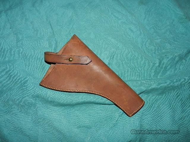 WEBLEY MK V OR LARGE FRAME HOLSTER  Non-Guns > Holsters and Gunleather > Military