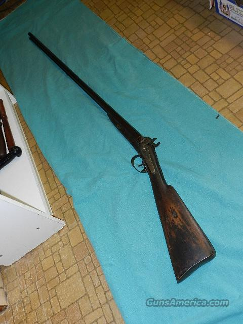 "MANTON 44""BARREL 16GA DOUBLE  Guns > Shotguns > Muzzleloading Pre-1899 Shotguns"