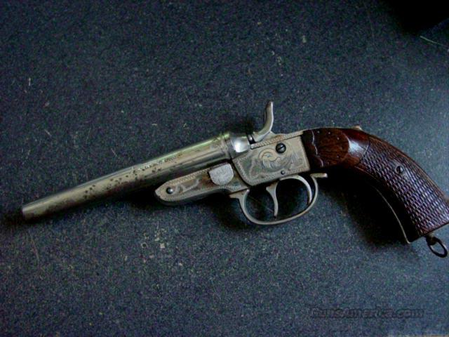 HOWDAH .44 CAL DOUBLE BARREL PISTOL  Guns > Pistols > Antique (Pre-1899) Pistols - Ctg. Misc.