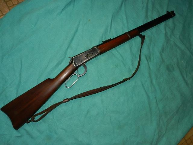 WINCHESTER 94 CARBINE MADE 1929 .32 W.S.  Guns > Rifles > Winchester Rifles - Modern Lever > Model 94 > Pre-64
