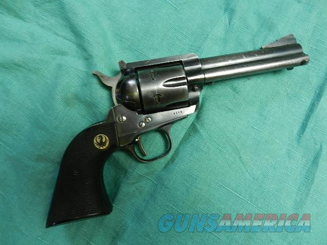 RUGER BLACKHAWK .357 MADE IN 1956  Guns > Pistols > Ruger Single Action Revolvers > Blackhawk Type