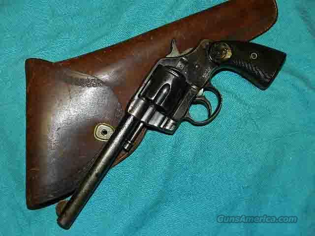COLT 1895 SEATTLE POLICE REVOLVER  Guns > Pistols > Colt Double Action Revolvers- Modern