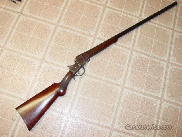 HOPKINS & ALLEN FALLING BLOCK SHOTGUN 12GA,  Guns > Shotguns > H Misc Shotguns